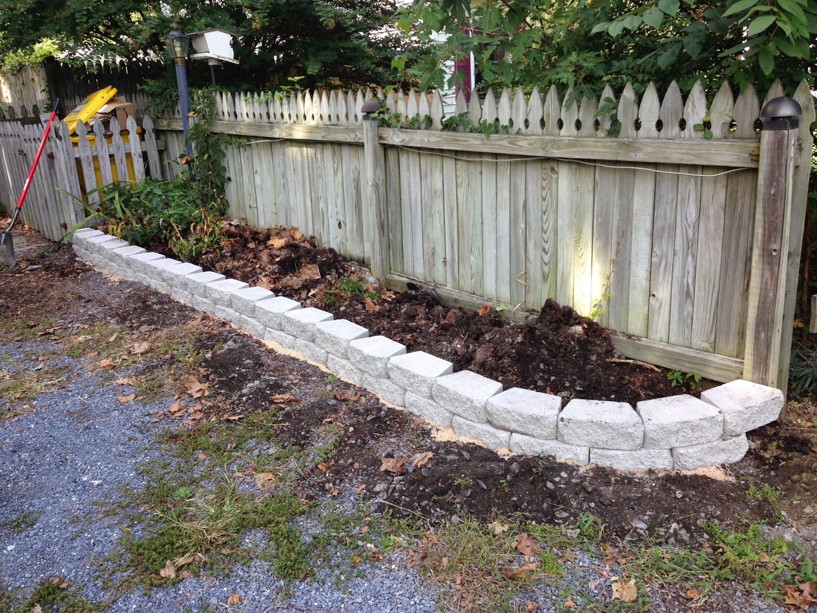 Image result for Stone Flower Bed Borders Landscaping