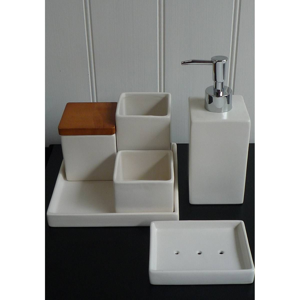 bathroom sets uk bathroom trendsbathroom setsbathroom accessories setswhite ceramicswinter white - White Bathroom Accessories Ceramic