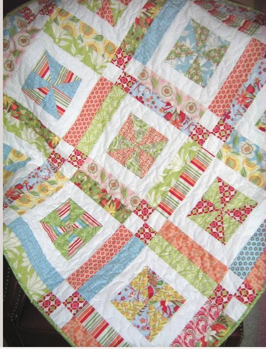 10 Quilt Patterns for Layer Cakes – What do I do with this Layer ... : layer cake quilt patterns free - Adamdwight.com