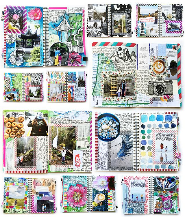 1 Set Vintage-Style Travel Stamp Stickers Cards Scrapbooking Travel Journal HC