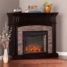 yvonne corner electric fireplace for beasleys corner electric rh pinterest com