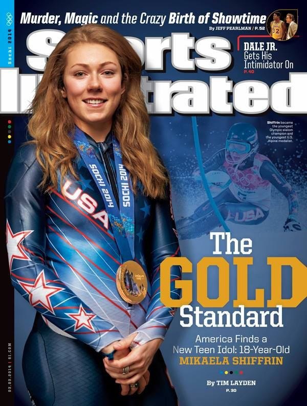 March 3, 2014 - Olympic Gold Medalist Mikaela Schiffrin.