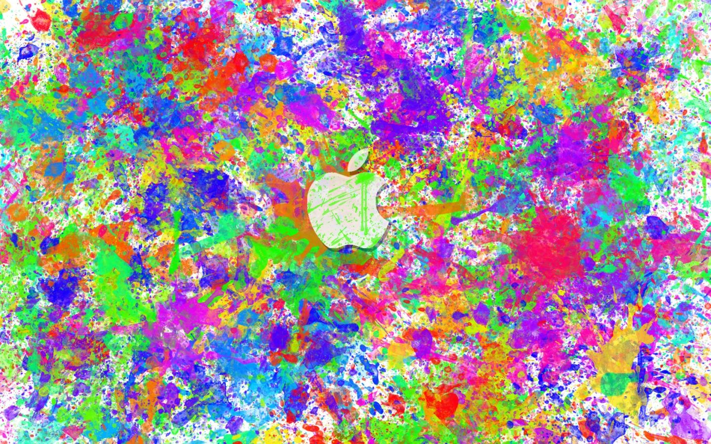 Apple-color-splat-wallpapers | Dibujos y Pinturas | Pinterest