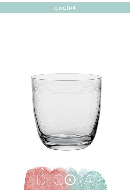 Vaso de whisky El Corte Inglés Dots 3,95€