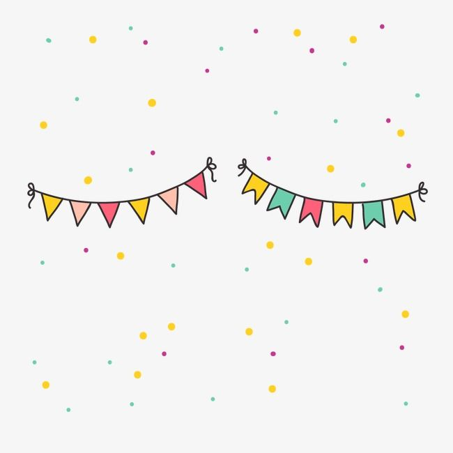 Party Bunting Party Party Decoration Birthday Party Png And
