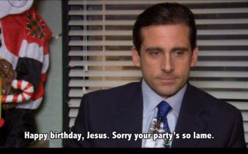 ahahahaha the office christmas - The Office Christmas Quotes