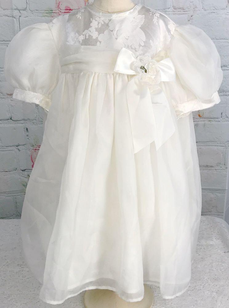 vintage white party dress puff sleeves 3t approx i m wearing kioz rh pinterest com