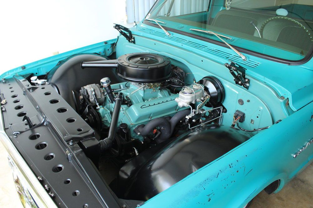 chevy c10 engine bay | 1984 chevy truck