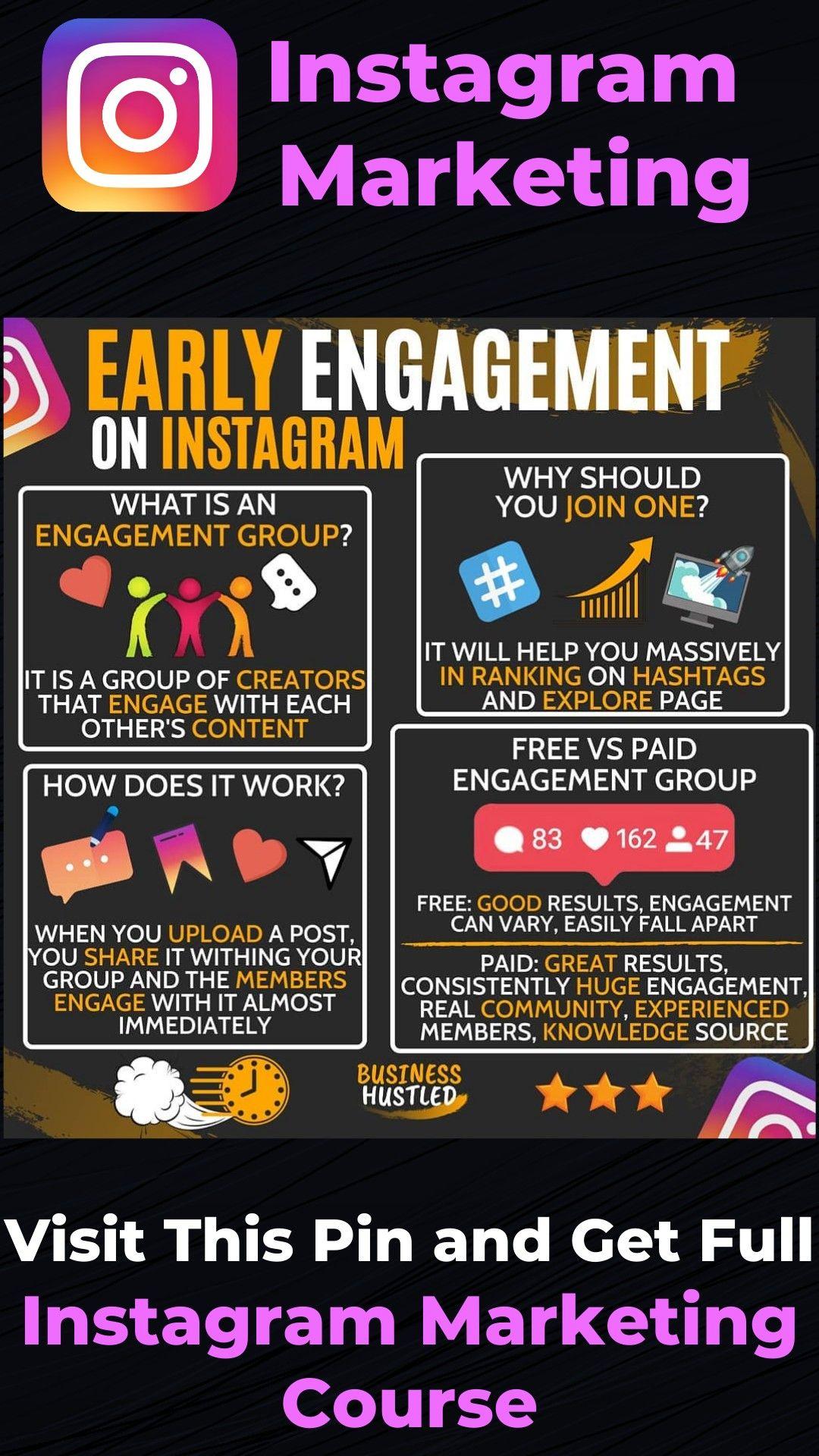 Instagram Engagement Instagram Marketing Social Media Marketing Dig Social Media Marketing Business Instagram Marketing Tips Marketing Strategy Social Media