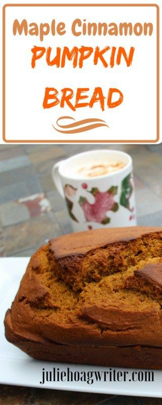Maple Cinnamon Pumpkin Bread #thanksgivingrecipes