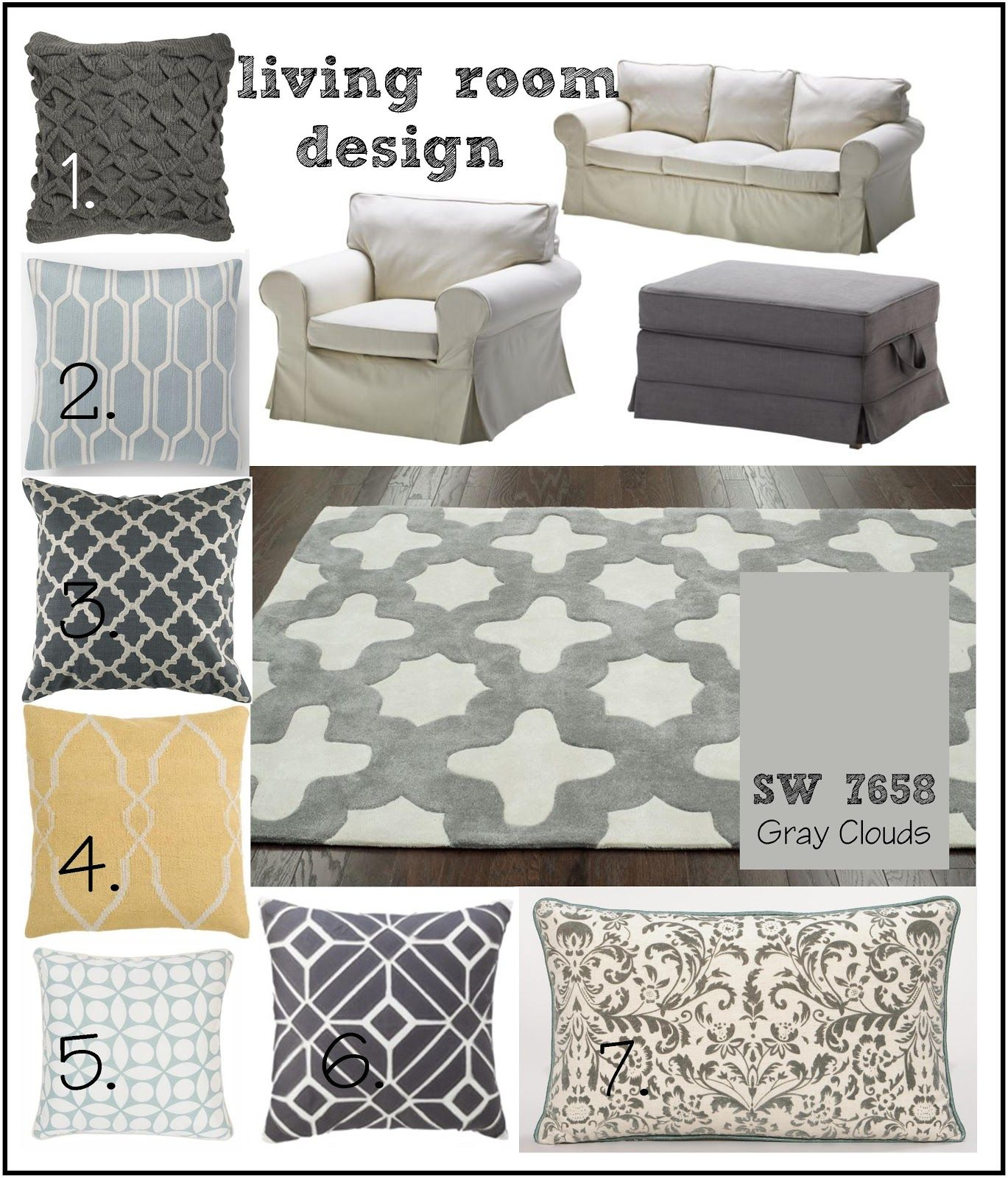 lot 23 living room inspiration grey blue navy yellow our new rh pinterest com