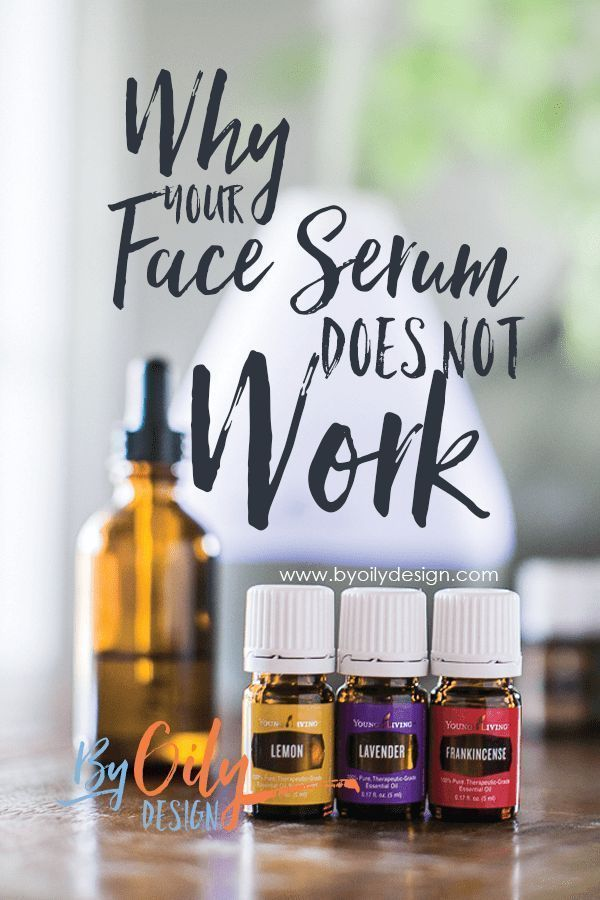 3 Mistakes you might be making with your DIY face serum ...