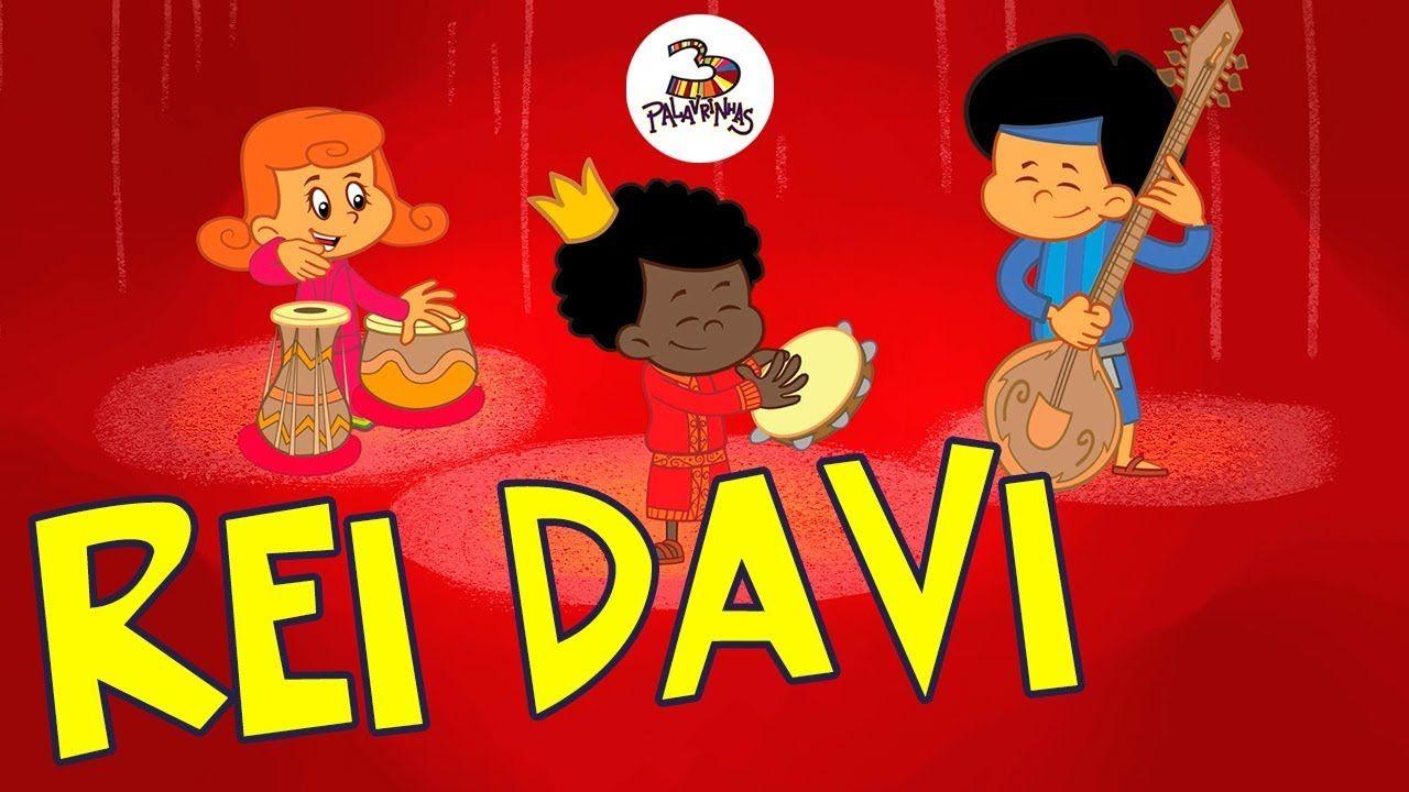 Rei Davi 3palavrinhas Volume 4 Com Imagens Louvor Infantil