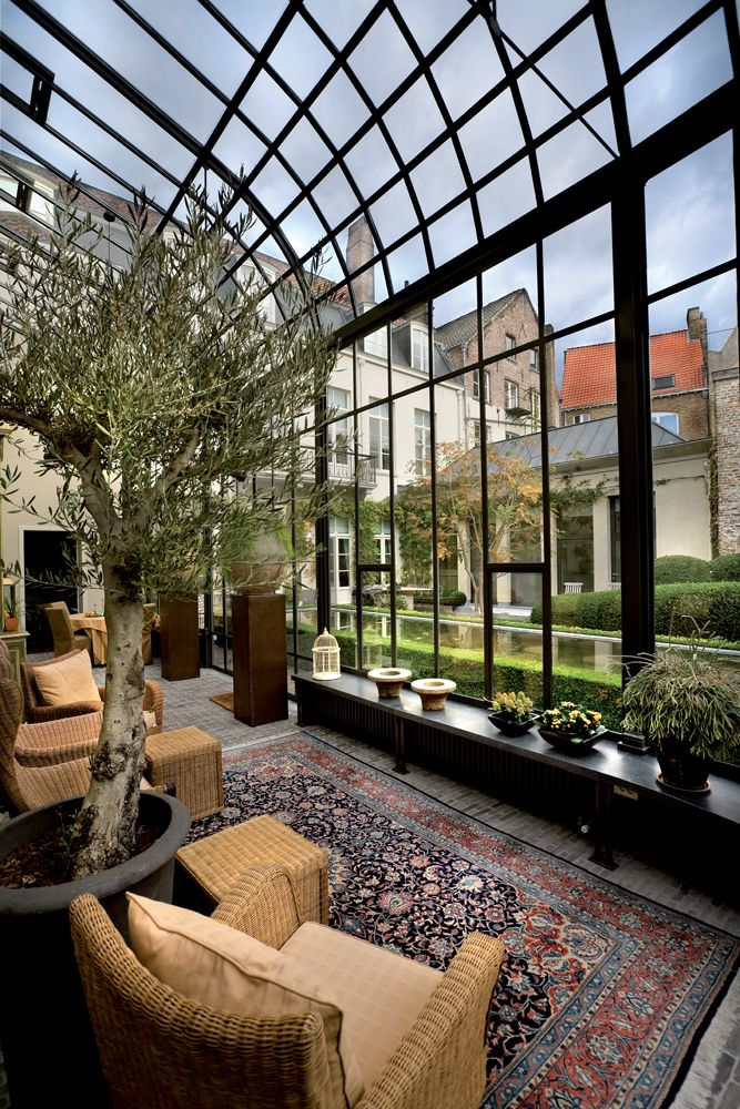 Luc d\'Hulst Orangerie - Orangery - Oranjerie - Veranda - Greenhouse ...