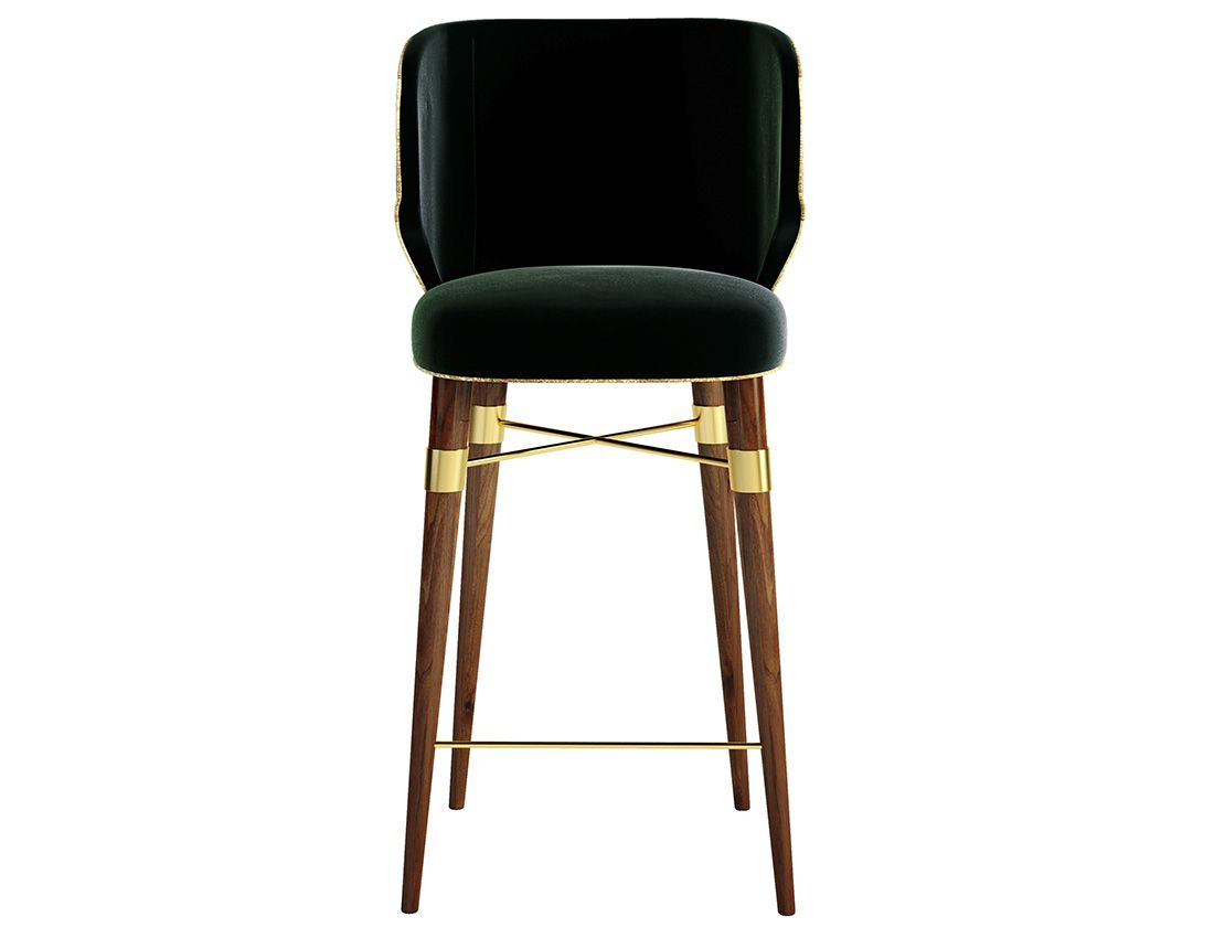 Costantini sedie ~ Louis mid century modern bar chair by bar chairs bar and cord