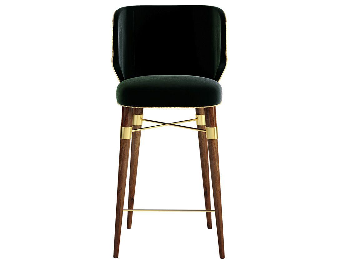 Louis Mid-Century Modern Bar Chair by | Barstühle, Luxus-möbel und ...