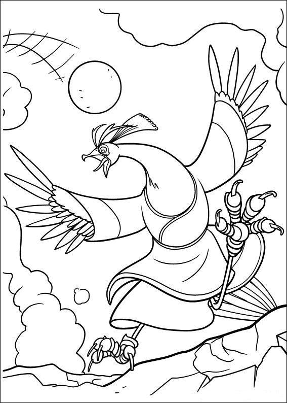 Kung Fu Panda Malvorlagen Panda coloring pages Kung fu