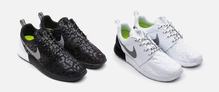 Nike Wmns Roshe Courir Pack Léopard Noir / Blanc stockiste en ligne prix de sortie FHYqaS