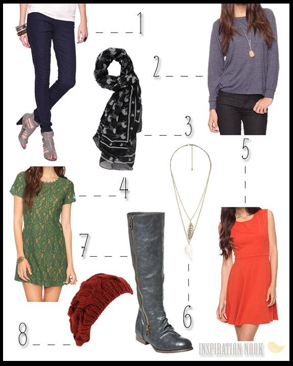 Fall Style wish list! #Fall #Style