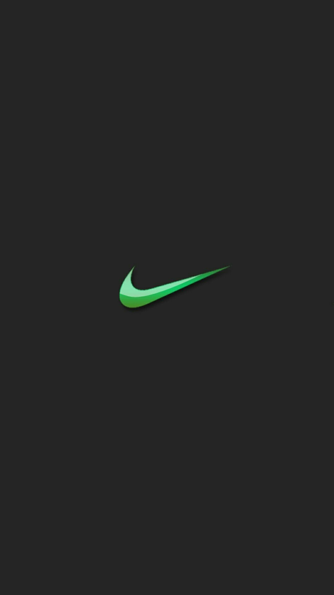 Green Nike Apple Watch Wallpaper