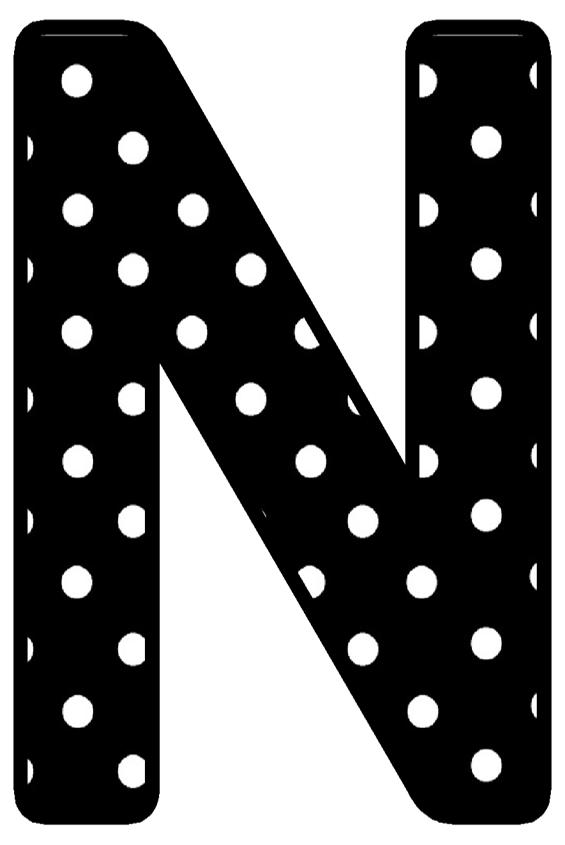 Buchstabe Letter N Lettering Letter N Letters