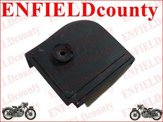 Enfield County Vespa Black Petrol Gas Tank To Body Frame Rubber All Models