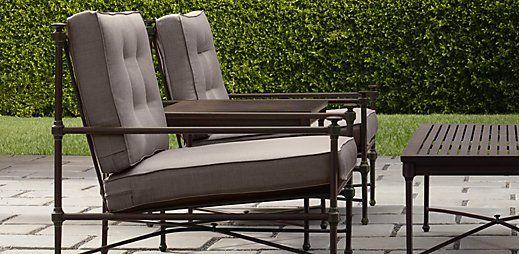 Download Wallpaper Restoration Hardware Outdoor Metal Chairs