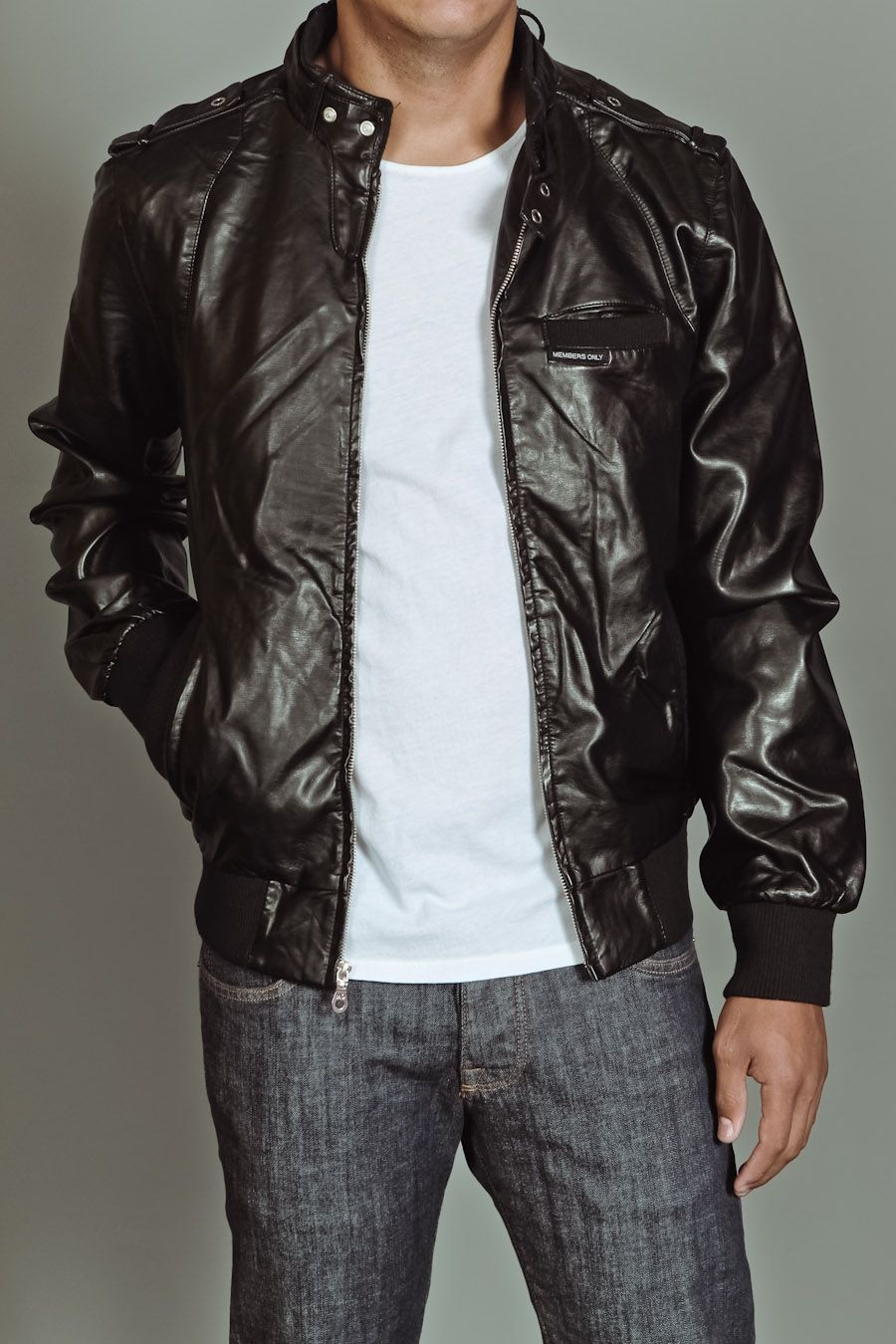 Members only leather jacket for sale