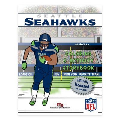 Nfl Seattle Seahawks Coloring And Activity Storybook  4f5347a785d