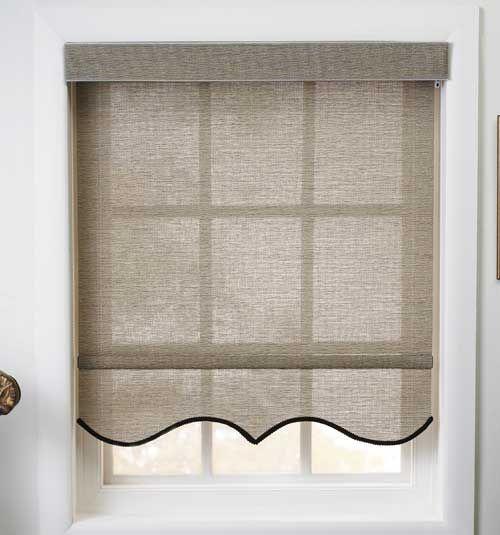 Levolor Roller Shades Light Filtering Window Coverings Bedroom