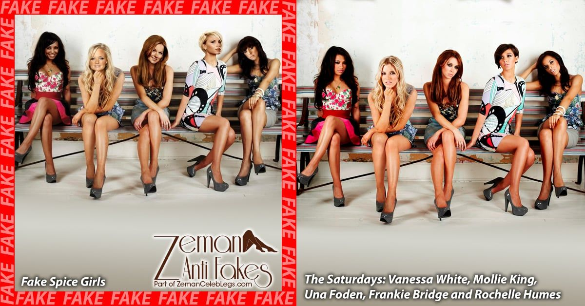 Quite Spice girls celebrity fakes