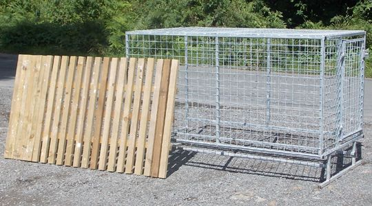 hand built metal new zealand style dog kennel raised dog kennel rh pinterest com