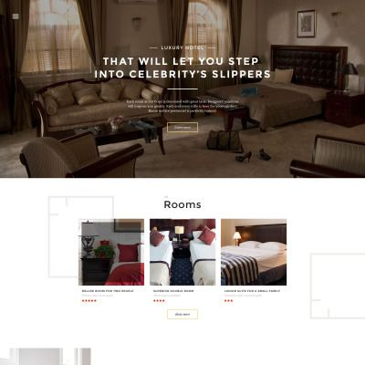 hotels responsive website template templates hotels and website