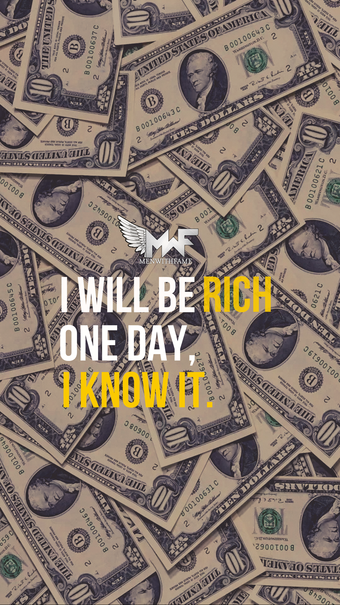 Wallpaper Amazing Dollar Money Quotes Rich People