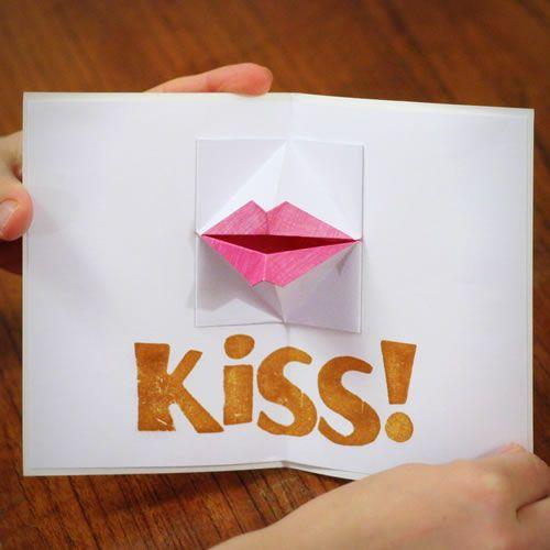 homemade boyfriend gift ideas origami valentine  DIY  Pinterest