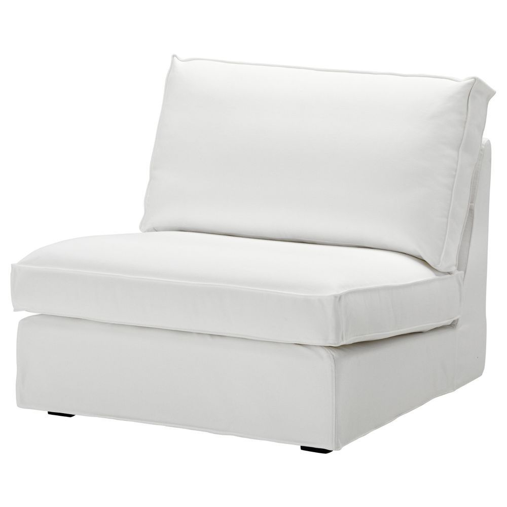 Ikea Kivik 1 One Seat Section Sofa Cover Blekinge White ...