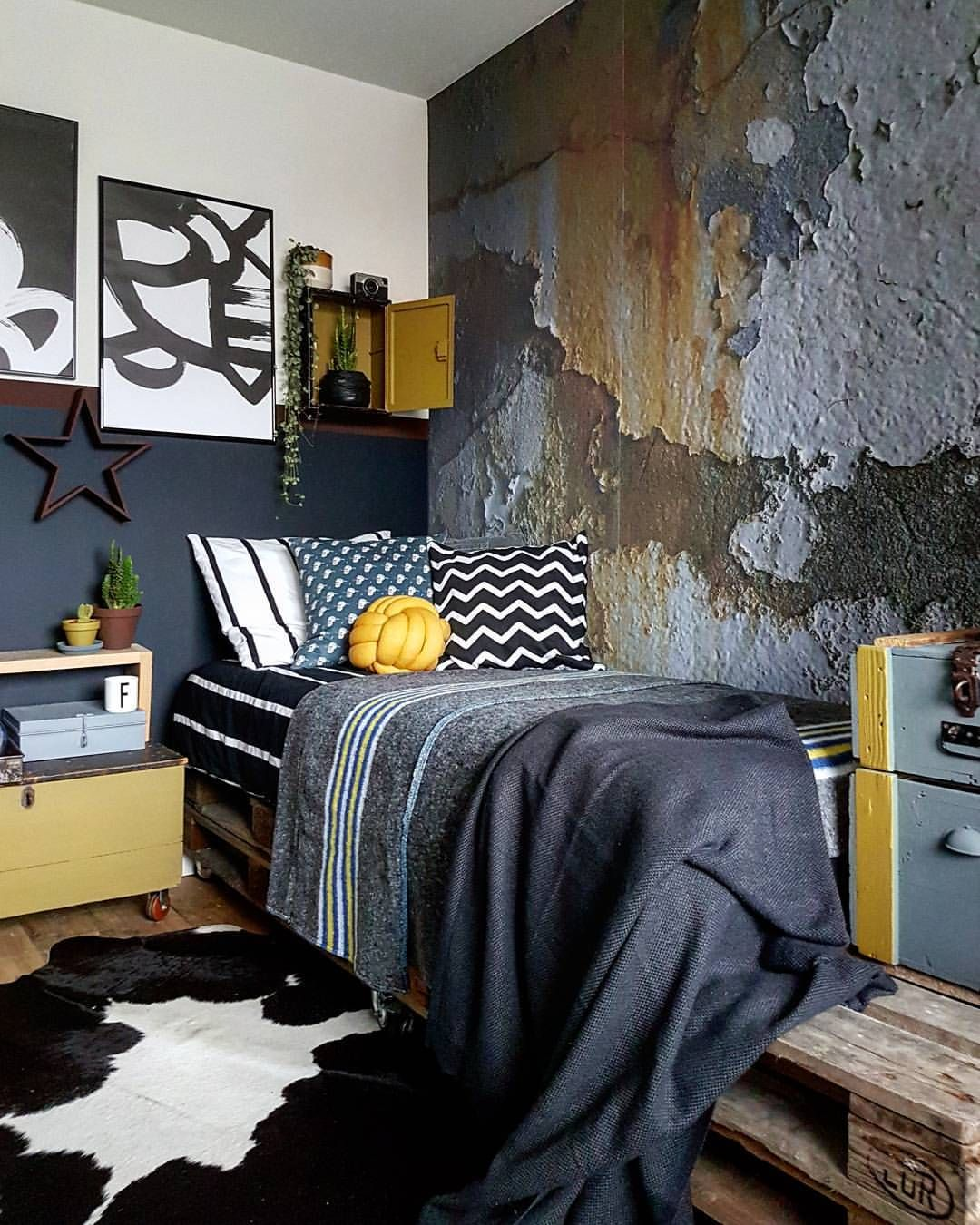 Industrial Bedroom Bedrooms Creative Decor Home Decor