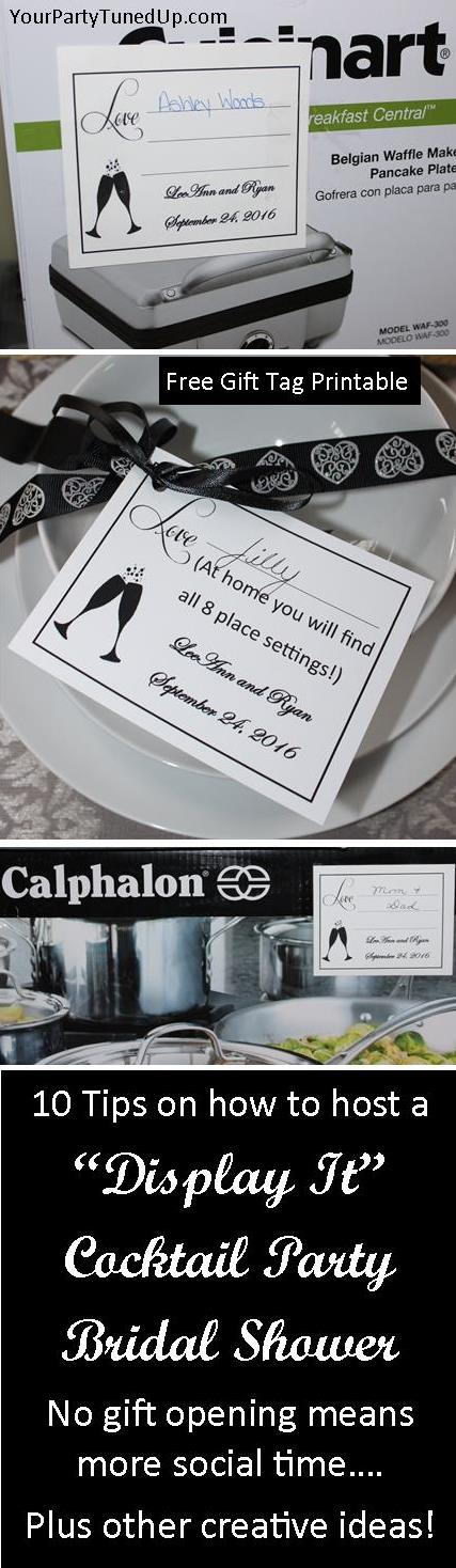 creative bridal shower invitation ideas%0A DISPLAY IT COCKTAIL PARTY BRIDAL SHOWER  You won u    t believe how much FUN a