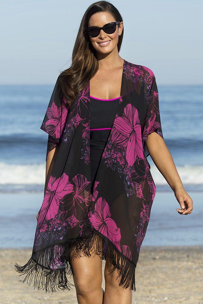 c6cb88676d ... from China printed car seat covers Suppliers  Women Knit Fringe Coat  Batwing Cape Shawl Ladies Tassel Poncho Wraps Boho Beach Kimono Swim Cover  Up Tunic ...