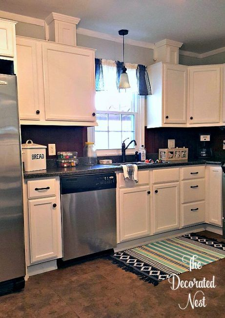 refresh your kitchen with paint painting kitchen cabinets stove rh pinterest com