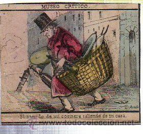 MARQUILLA.VISTA.BOFETON DE TABACO SIGLO XIX 1865 CUBA