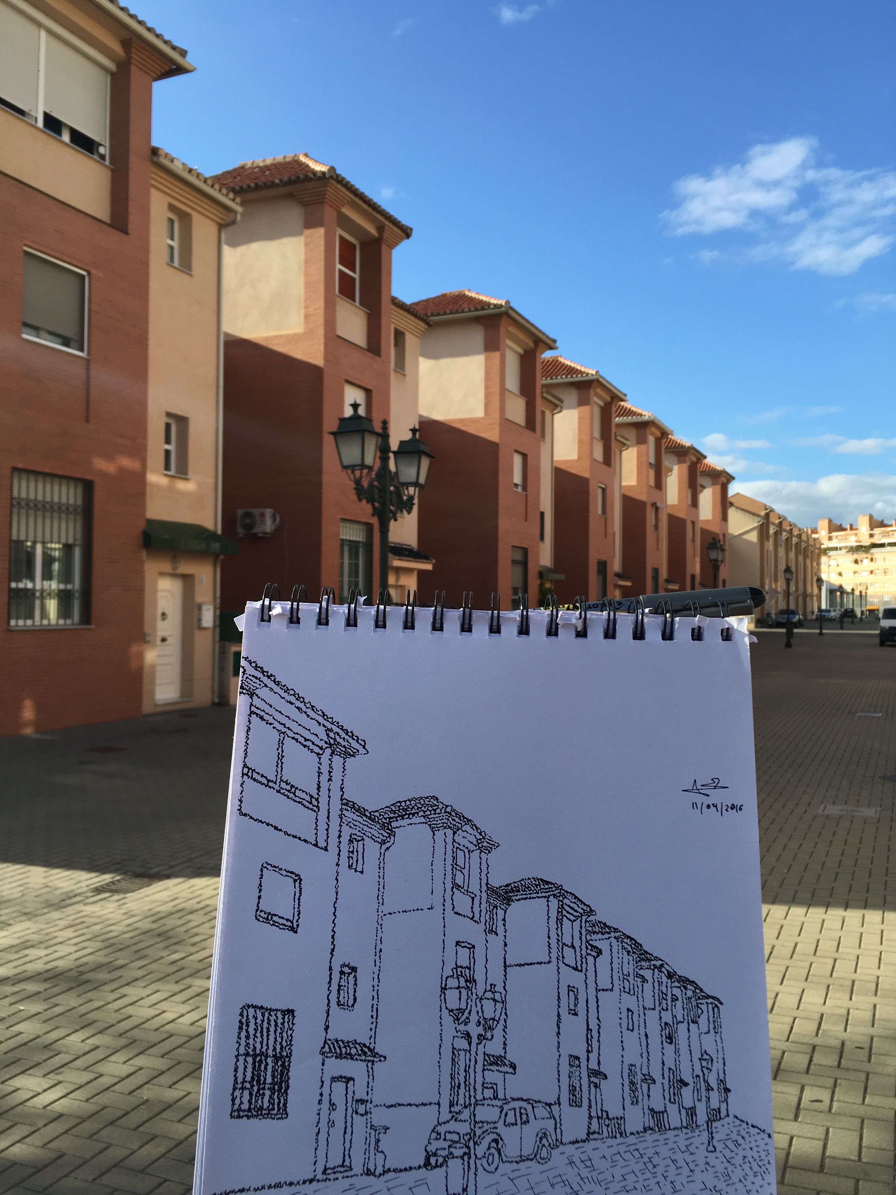 In situ versión libre de encuadre urbano 1, un punto de fuga ...