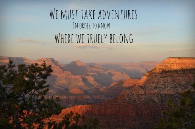 Adventure Quotes Pictures Images: Sunrise, Sunset And Adventures In The Grand Canyon