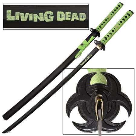 Living Dead Apocalypse Japanese Samurai Katana Sword Armas Rpg Armas Rpg