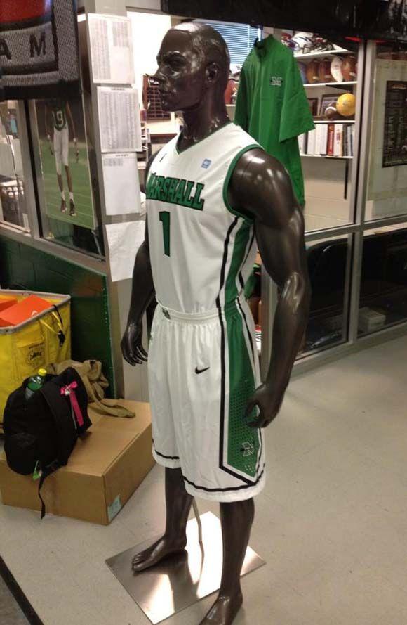Marshalls New Nike Basketball Uniforms