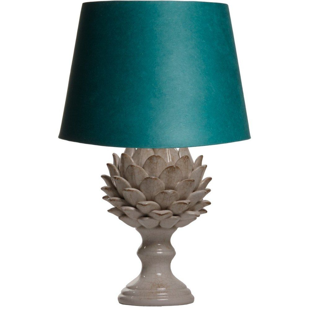 larger artur table lamp in a stone crackle glaze lamp table lamp rh pinterest com