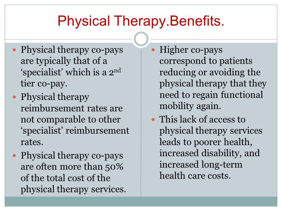 Cost of physical therapy per visit이미지 포함