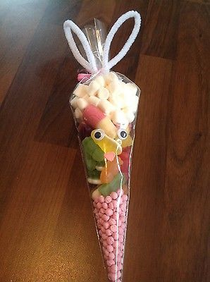 Pre filled easter bunny sweet cones great gift for easter pre filled easter bunny sweet cones great gift for easter view negle Gallery