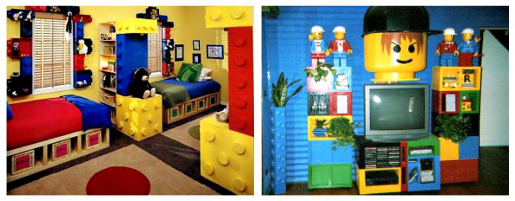 Lego Themed Room Decorating Ideas Part - 36: Contemporary Boy Kids Room Idea In Other Kids Room Ideas 15 Lego Room Decor  We Are Always Willing To Expand Our List New Great Lego Rooms Enjoy Our Lego  ...