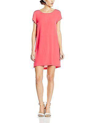 UK 6, Pink - Rose (21 Grenadine), Suncoo Women\'s Calici Short Sleeve ...